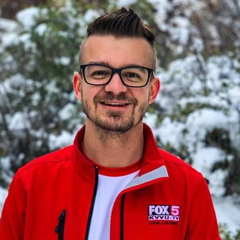 Ryan Dunn, recent Kent State University Graduate and Technical Producer, at  Las Vegas Fox Affiliate, KVVU