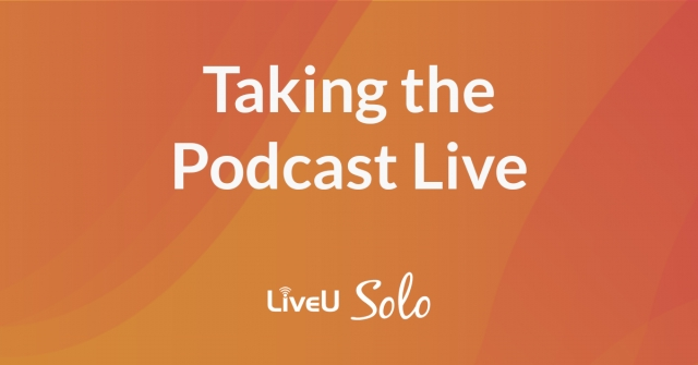 Producing a live podcast