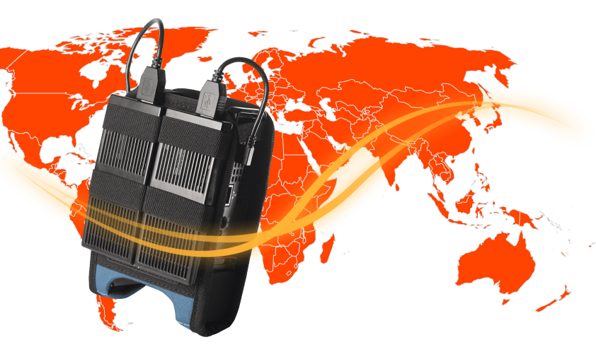 Global, high-performance modems