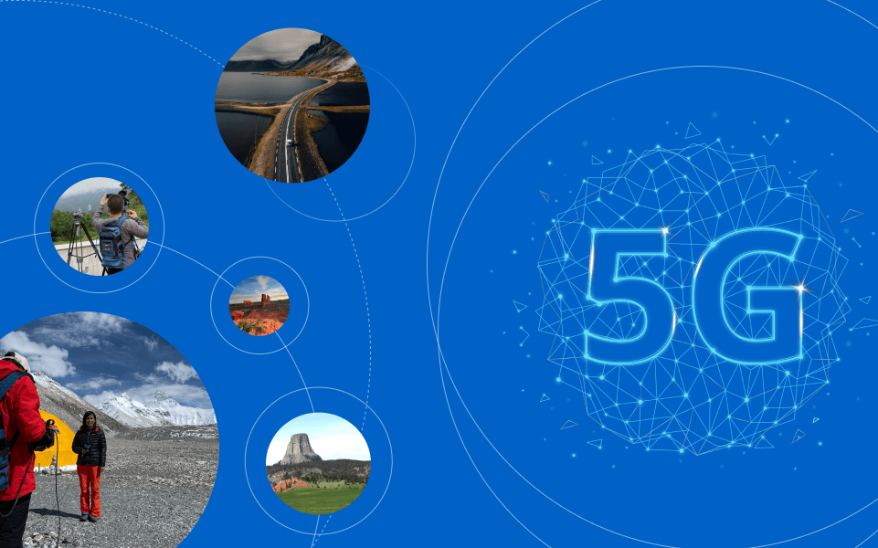At the forefront of 5G technology for the broadcast industry