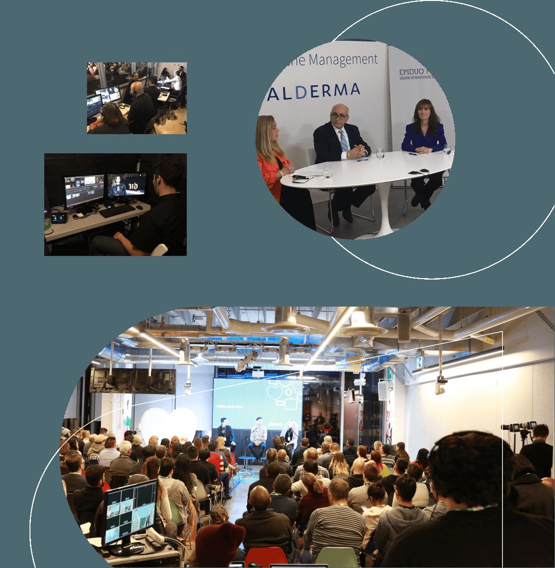 Live events & virtual conferences