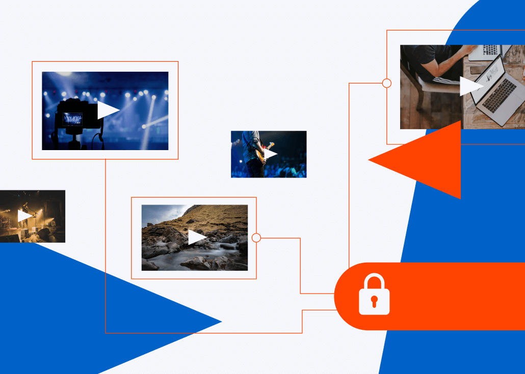 Secure corporate live streaming