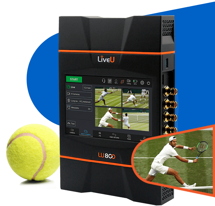 Enrich your live coverage with remote multi-cam production