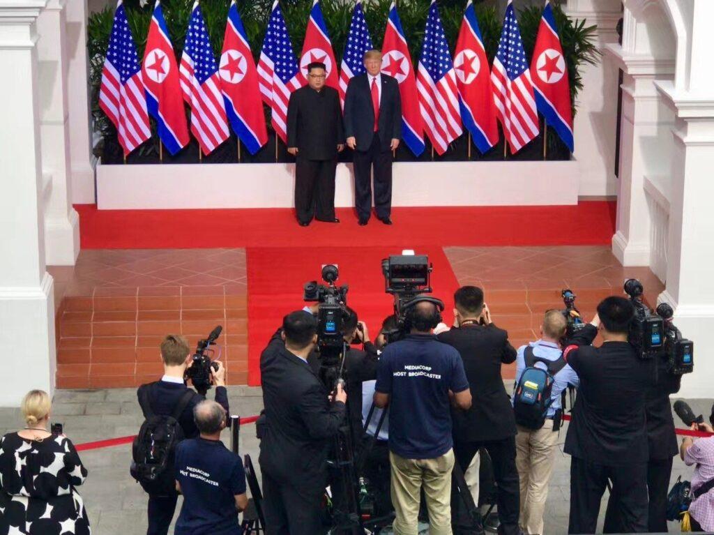 2018 News Roundup - Trump-Kim Image