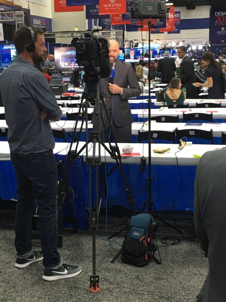 LiveU Supports First Presidential Debate - Image 2