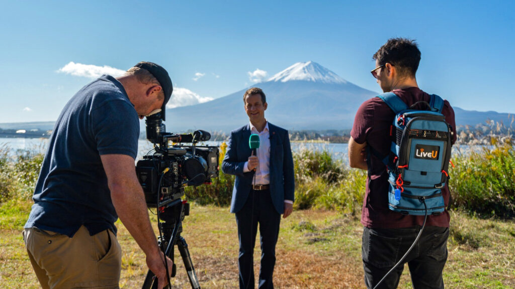 ITV Sport Deploys LiveU Technology at the 2019 Rugby World Cup
