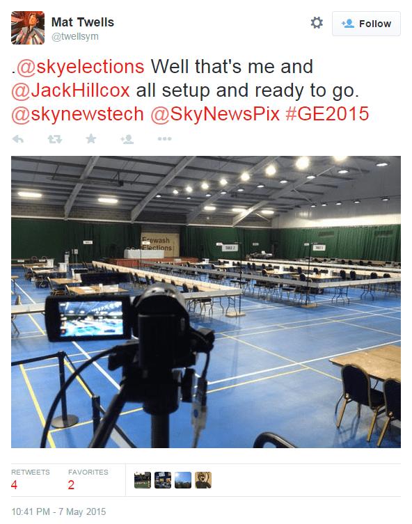 Sky News UK Election Coverage with LiveU - Image 4
