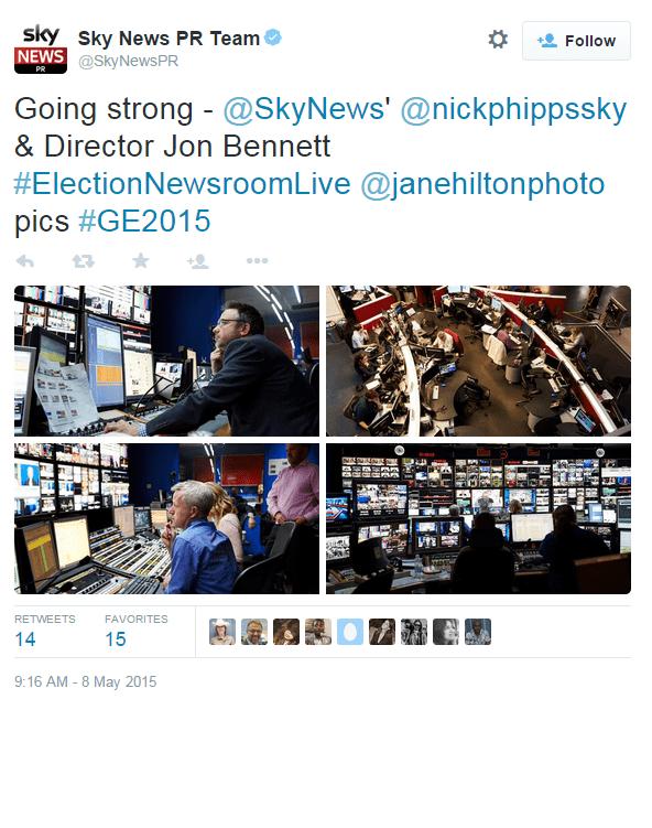 Sky News UK Election Coverage with LiveU - Image 5