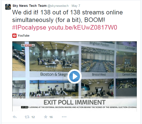 Sky News UK Election Coverage with LiveU - Image 6