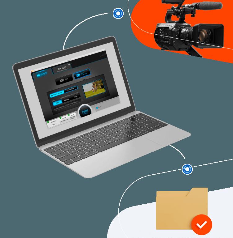 Bonded transmission via your laptop