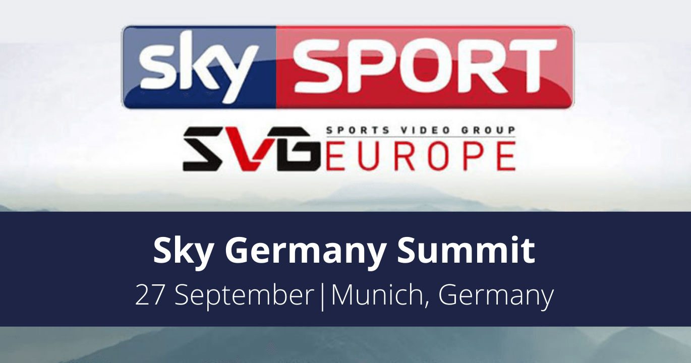 Sky Germany Summit 2021, by SVG Europe